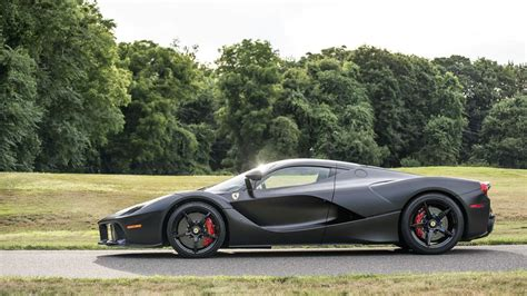 la black matte black laferrari nero ds opaco set for auction