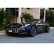 Aston Martin One 77 Black Pictures