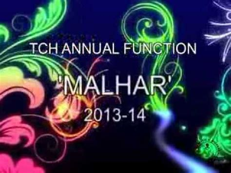 theme names for annual function tch annual function malhar 2013 quot relationships quot theme