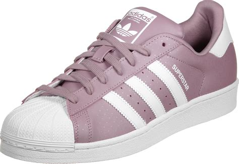 Adidas Superstars adidas superstar w schoenen lila wit
