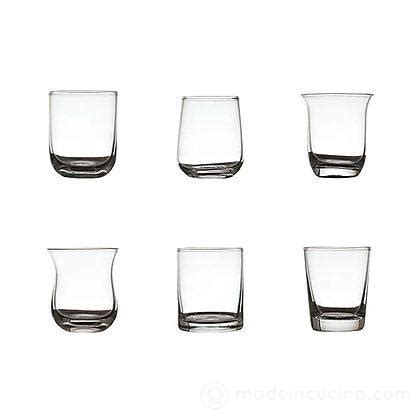 bicchieri bitossi bicchieri liquore desigual set 6 pz bitossi home