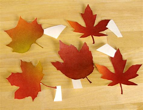 How To Make Wax Paper Leaves - make like a tree and leaf soap