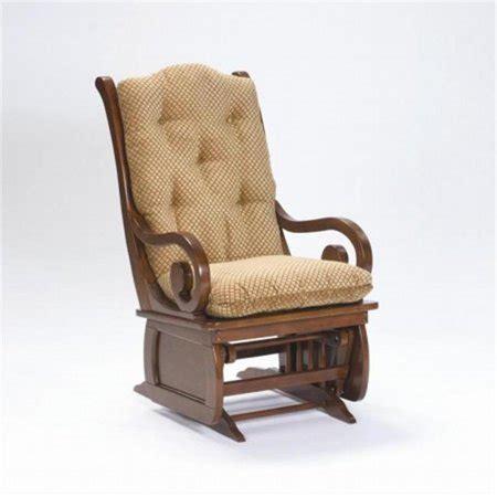 brooks furniture philippabark heritage cherry sleigh glider rocker walmartcom