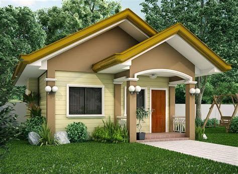 house design ideas for 100 square meter lot in photos ofw built his p500k house a small and yet beautiful house