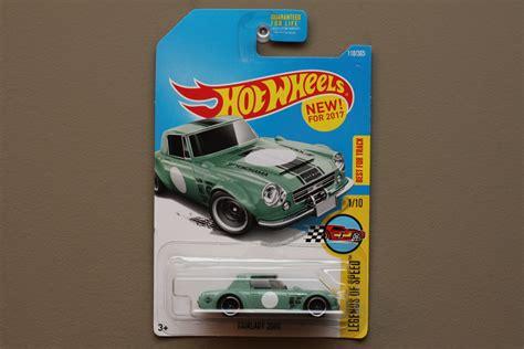 Hotwheels Datsun Green wheels 2017 legends of speed datsun fairlady 2000