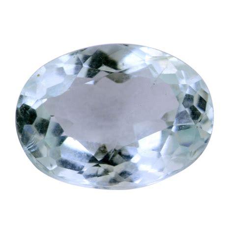 certified 2 82 ct aquamarine gemstone