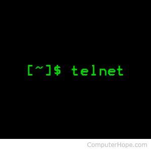 telnet command linux telnet command help and exles