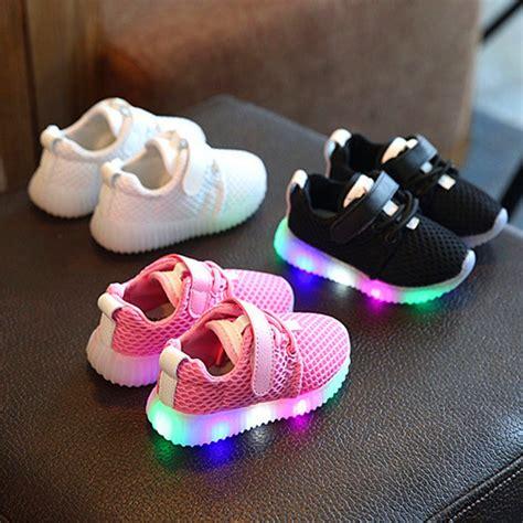 sepatu anak pria wanita sepatu sneaker model berkedip