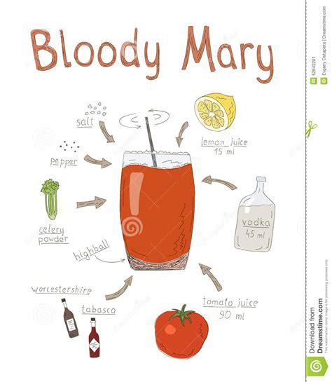manhattan drink illustration cocktail recipe poster royalty free illustration