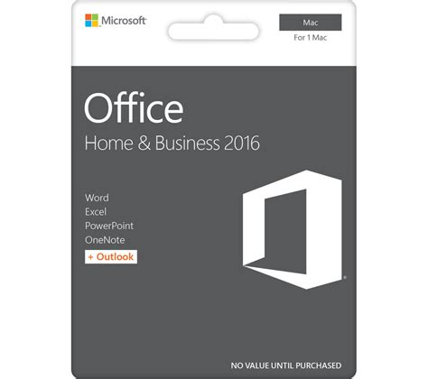 Software Microsoft Microsoft Office Home And Busine 20170228 microsoft office home and business for mac deals pc world