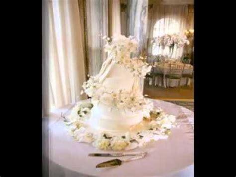 DIY Wedding cake table decorations   YouTube