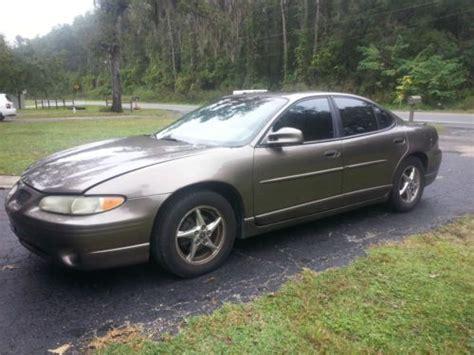 2000 grand prix transmission used pontiac grand prix html find used 2000 pontiac grand prix gtp supercharged in ocala florida united states