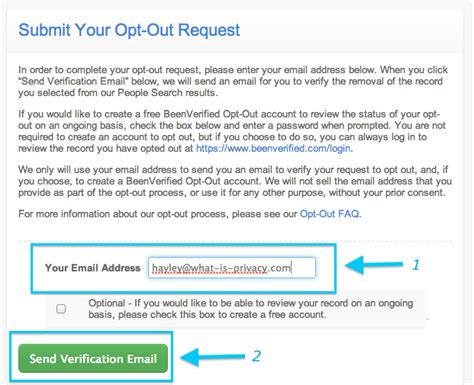 Search Opt Out Opt Out Of Beenverified What Is Privacy