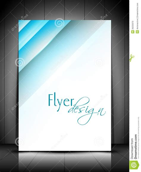 professional flyer template professional business flyer template stock photo image