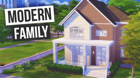 the sims 4 house building modern spring speed build the sims 4 speed build modern family youtube