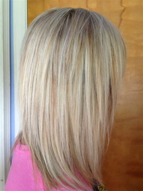 blonde foil highlights short hairstyle 2013 work in progress multiple light blondes foils hair sara