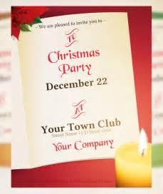 Christmas Invitation Card Template 21 Christmas Invitation Templates Free Sample Example