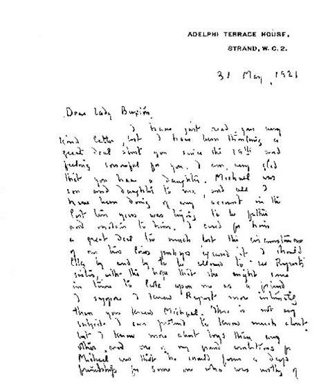 Présentation D Une Lettre Amicale En Anglais Matthew Barrie Biographie