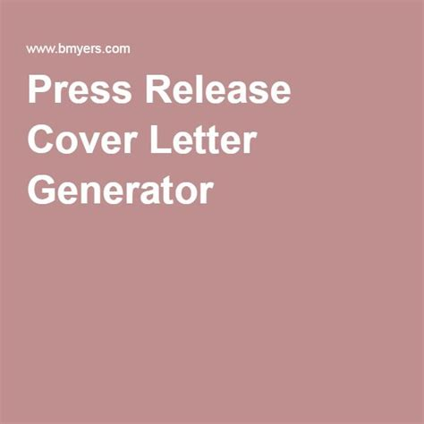 17 best ideas about cover letter generator on pinterest