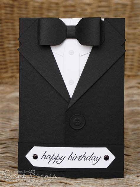 template new year tuxedo 3d card colour me happy jai 276 just add cards suited up