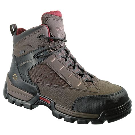 safety toe work boots s wolverine 6 quot hibian carbonmax safety toe tex