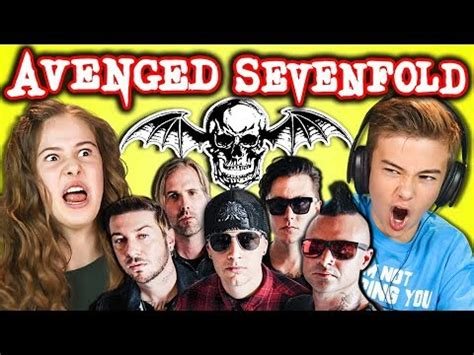 Avenged Sevenfold Metal Band react to avenged sevenfold metal band