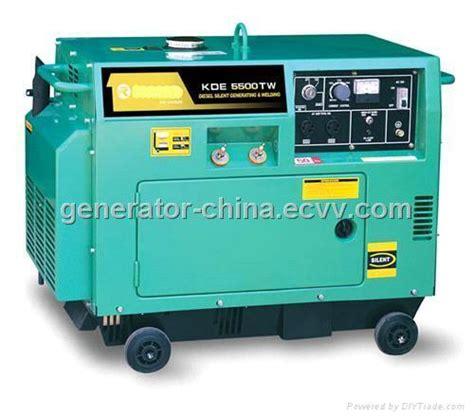 welding diesel generator 5kw silent type maxpower