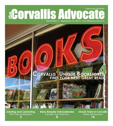 new issue september 20th 2012 the corvallis advocate new issue september 6th 2012 the corvallis advocate