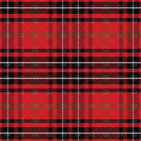 vector plaid pattern free red seamless pattern scottish tartan vector clipart