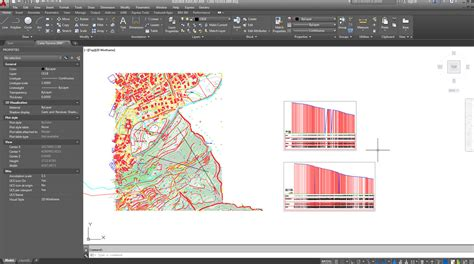 autocad section topographic sections in autocad auto cross section