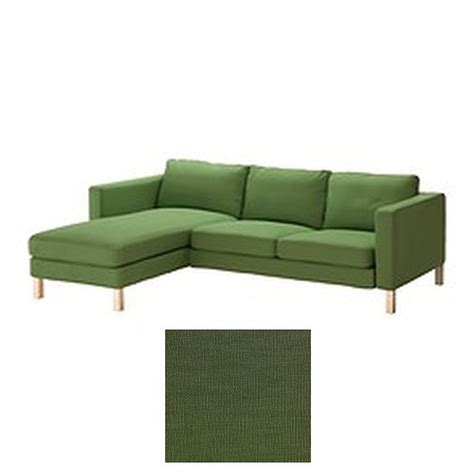 chaise slipcovers ikea karlstad 2 seat loveseat sofa and chaise slipcover