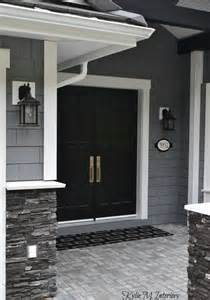 front door stories gray and white home marble wood and more