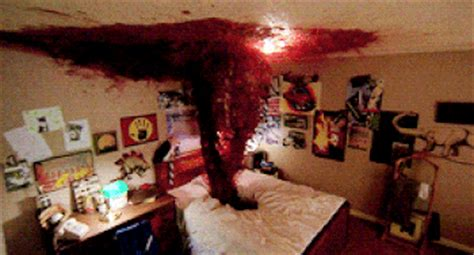Bedroom Picture Frames a nightmare on elm street blood gif find amp share on giphy