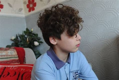 perm for little boy schoolboy kicked out of class after getting his hair
