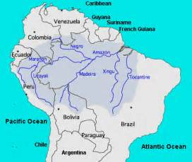 map of south america river river south america map of river