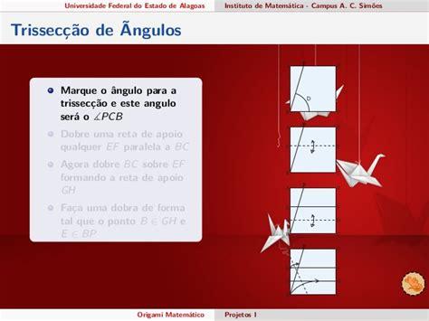 Mathematics Of Paper Folding - mathematics of paper folding computational origami