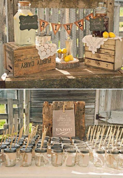 rustic themed events rustic wedding party ideas photo 1 of 7 catch my party