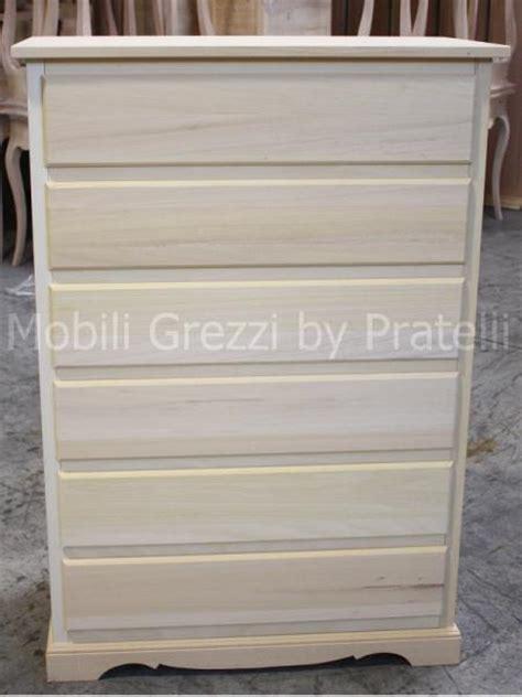 cassetti legno grezzo cassettiere grezze cassettiera grezza matilde