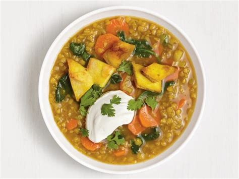 vegetable soup recipes food network curried lentil vegetable soup recipe food network