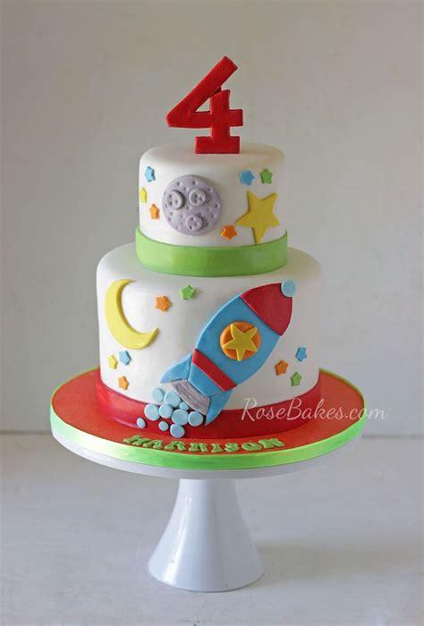rocket ship birthday cake images  pinterest