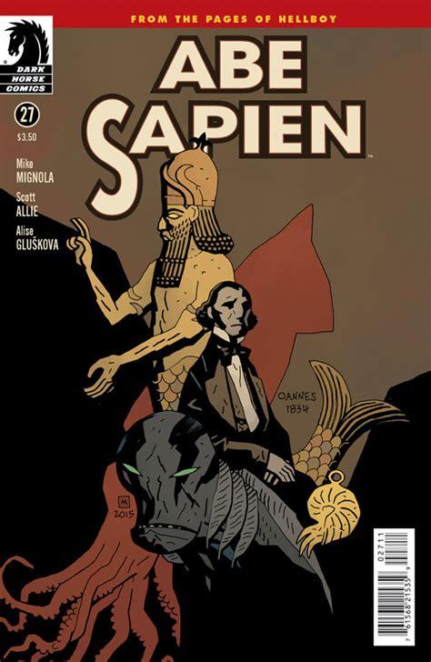 libro abe sapien dark and abe sapien 27 profile dark horse comics