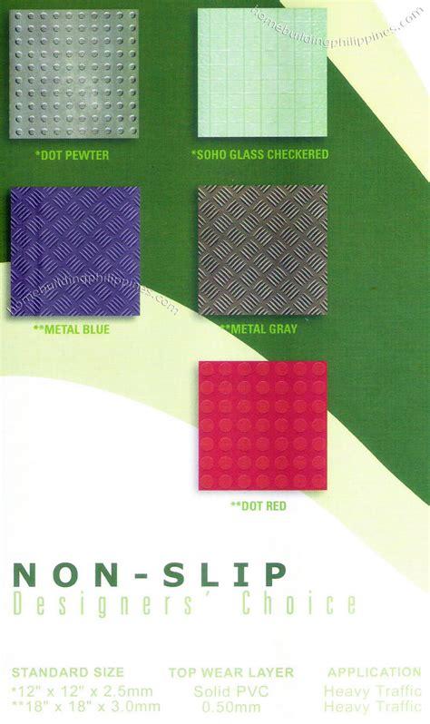 slip floor vinyl tile flooring design philippines