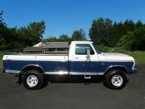 sell used 1975 ford f250 xlt highboy 4x4 in vancouver