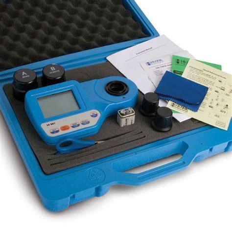 Hi 96750 Potassium Portable Photometer hi 96701c free chlorine portable photometer kit