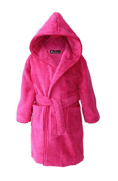 Personalised Kids Dressing Gowns   Hot Pink (2 15ys