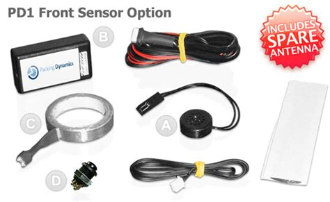 Car Ultrasonic Sensor Intl parking sensor front system no holes no drilling