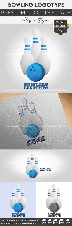 Bowling Premium Logo Template By Elegantflyer Premium Logo Templates