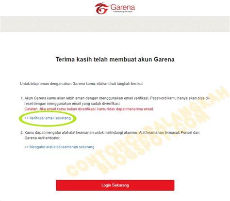buat akun pb garean cara buat akun pb garena indonesia plus verifikasi akun pb