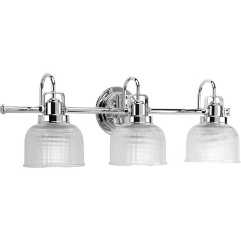 bathroom lighting collections progress lighting archie collection 3 light chrome bath