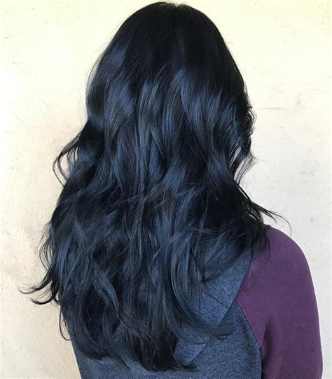 black and blue hair color blue black hair how to get it right